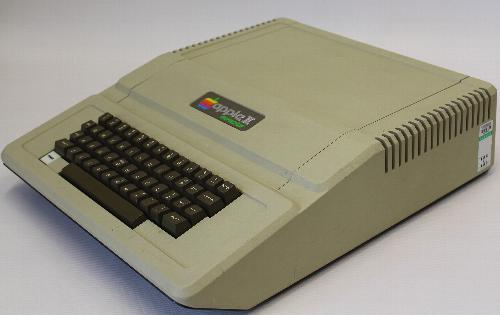 Apple II Europlus side view