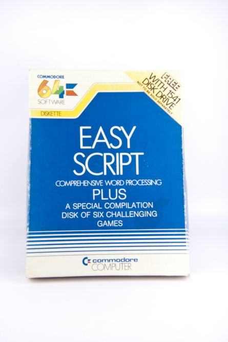 Easy Script - Comprehensive word processing for Commodore 64