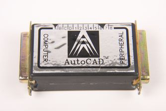 AutoCAD Release 9 Media and Dongle